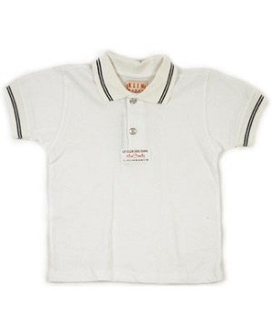 18m: Klim Baby's The Bear Club White Polo