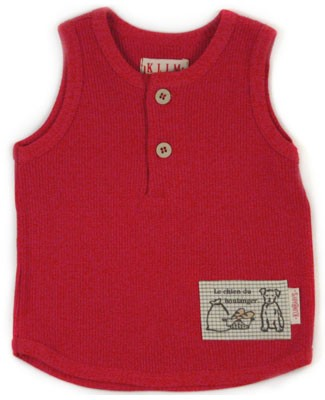 6m: Klim Baby's The Bear Club Ribbed Tank