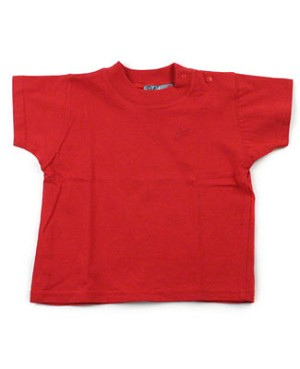 6m : Polichinelle Short Sleeve Red Tee