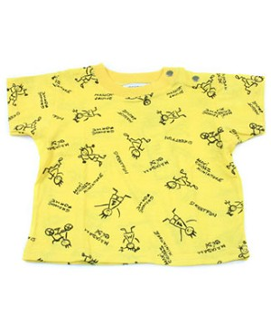 6m: Miniature Yellow S/S Sport Tee
