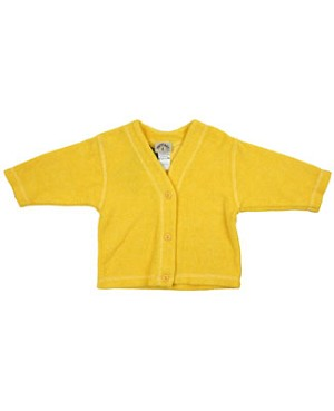 R: Petit Boy Yellow Terry Sweater