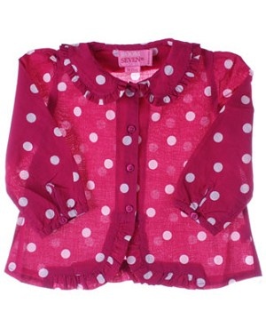 Room Seven Raspberry L/S Blouse