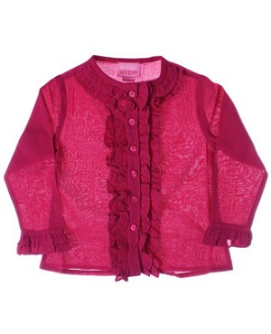 Room Seven Raspberry Cambric Blouse