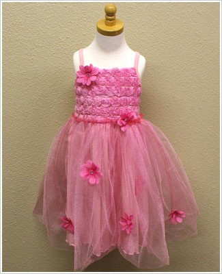 Rose Cage Pink Ballet Princess Sundress with Tulle Skirt *WOW*