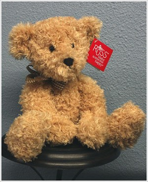 Russ Plush Tan Small Briarton Bear