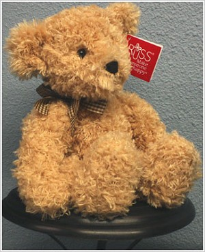 Russ Plush Tan Large Briarton Bear