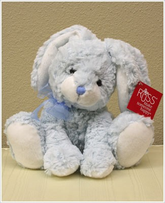 Russ My First Large Blue Easter Bunny