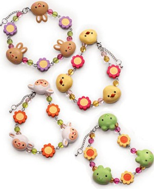 Russ *Charming Egg-Cessories* Springtime Bracelet *MANY CHOICES*
