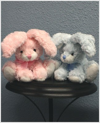 Russ My First Small Easter Bunny *PINK or BLUE*