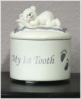 Russ Ceramic My 1st Tooth Box