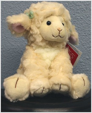Russ Plush Lola the Lamb