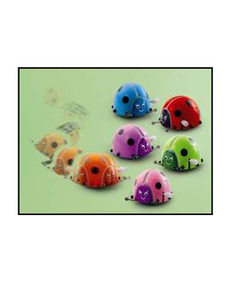 Russ Wind-Up Lady Bug *Many Colors*