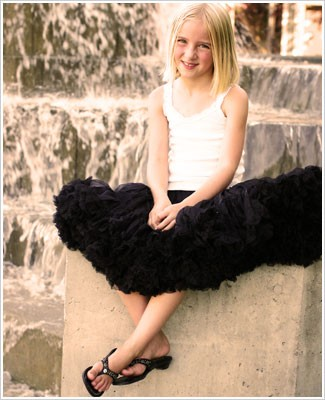 II: *BLACK* Pettiskirt
