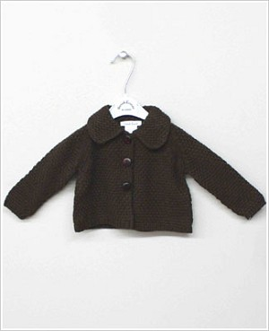 Sarah Louise Brown Knitted Cardigan