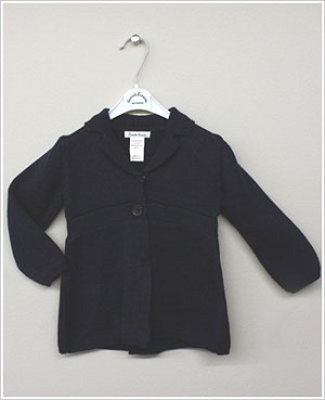 Sarah Louise Navy Cardigan Jacket