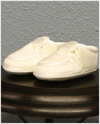 Sarah Louise Ivory Boy Shoes