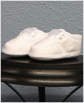 Sarah Louise White Boy Shoes