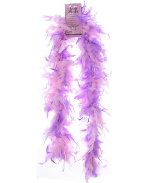 Schylling Lavender w/ Tinsel Chand Boa