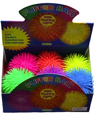 Schylling Stretch Puffer Ball w/ LED Light