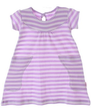 Scout Orchid & Cream Stripe Discover Dress w/ Pockets