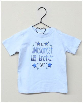 She's The One Blue *The Awesomest Big Brother Ever* S/S Shirt