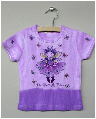 She's The One S/S Lavender *The Butterfly Fairy* Top