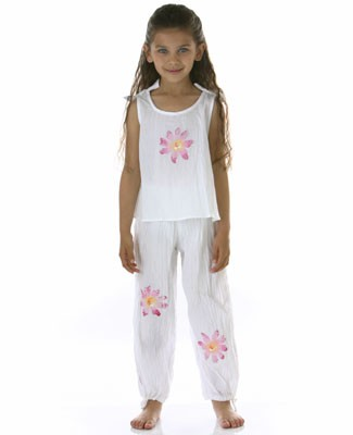 II: Shortcake *Tiny Dancer* Pink Flower Tank and Pant Set