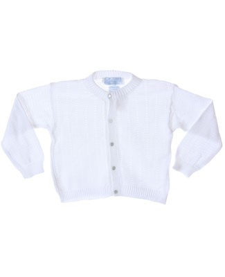 R: Sophie Dess White Button Up Knit Sweater