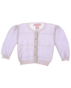 Sophie Dess Lavender Knit Button Up Sweater