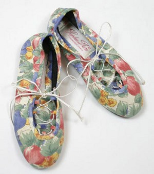 : Sophie Dess Blue Floral Print Dress Shoe *FINAL SALE*