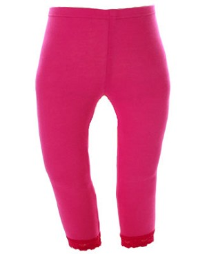 10y II: Stella Industries Fuchsia Lace Leggings