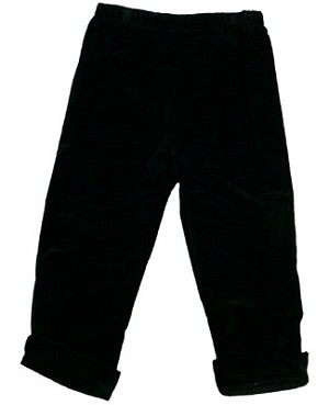 II: Shortcake Black Lisa Pants