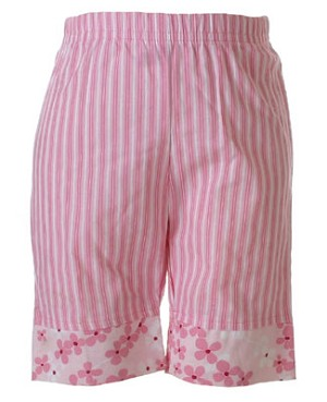 II: Sweet Potatoes Pink Pansy Stripe Pants