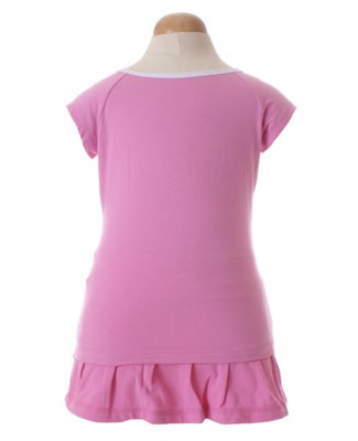 II: Sweet Potatoes *Flip* Pink Raglan Tee and Skort Set
