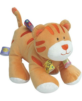 I: Taggies Baby Buddies Plush Tiger