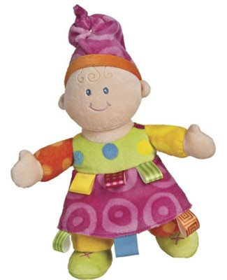 I: Taggies Colours Baby Emily Doll