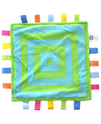 I: Taggies - Little Taggies *Colours Collection* Square Dance