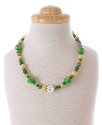 II: Tatiri Green And Yellow Necklace