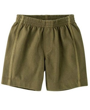 XS (3m-6m) II: Tea Sage Green Shorts
