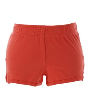XS (3m-6m) II: Tea Orange Track Shorts