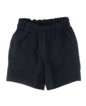 II: Tea Indigo French Terry Long Shorts
