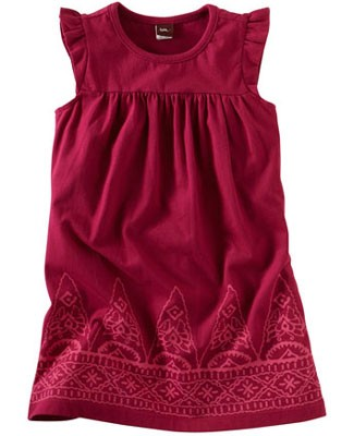 Tea Raspberry Dahlia Jaya Peak Play Dress