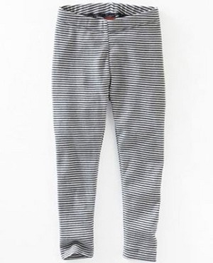 Tea Indigo/White Skinny Stripe Leggings
