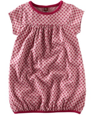 Tea Pink Hydrangea Lotus Blossom Play Dress