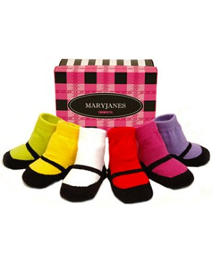 Trumpette *Mary Janes* Bright Baby Socks
