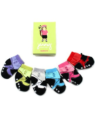 II: Trumpette Set of 6 Jenny Golf Socks