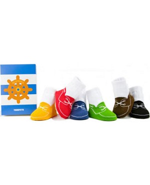 Trumpette *Skippers* Bright Boat Shoe Baby Socks