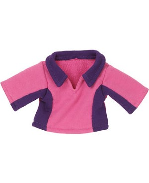 II: Ganz Webkinz Clothing - Pink & Purple Fleece Top