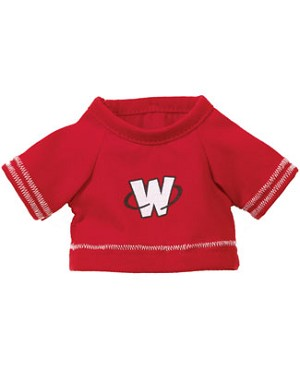II: Ganz Webkinz Clothing - Red Football Jersey