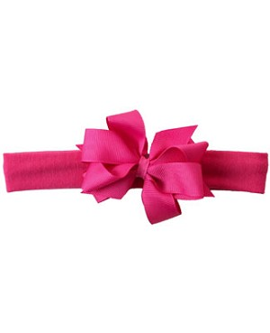 II: Wee Ones Girls Headwrap w/ Double Basic Bow *MANY COLORS*